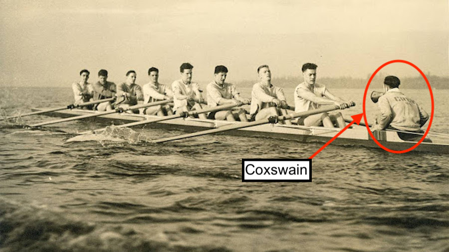 The University of Washington and 1936 US Olympic Rowing Team, led by their Coxswain, Bob Moch  - boys in the boat - It Looks Like You're Still Trying to Use a Framework