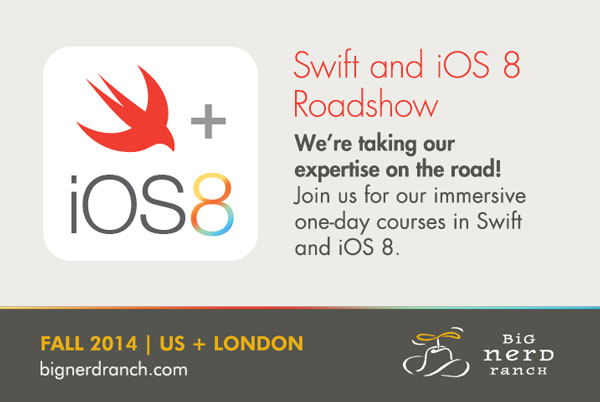 Swift and iOS 8 bootcamps